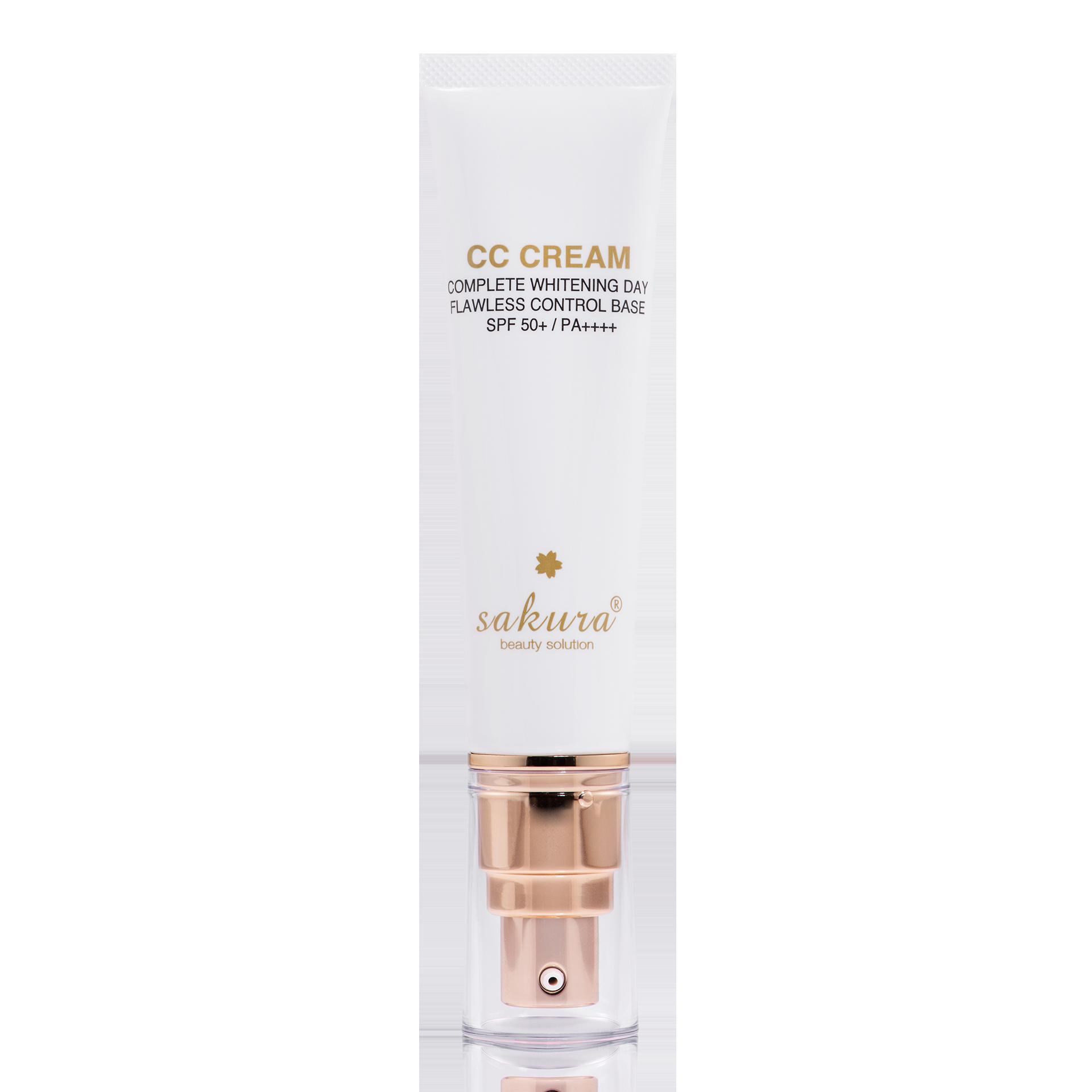 Sakura CC Cream Flawless Control Base