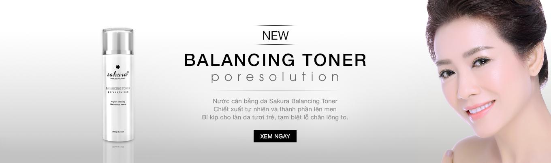Sakura balancing toner nước cân bằng làm sáng da