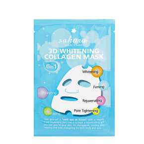 Sakura 3D whitening collagen mask