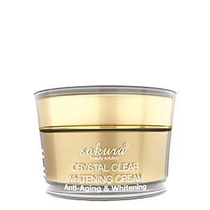 Crystal Clear Whitening Cream – Anti-Aging & Whitening