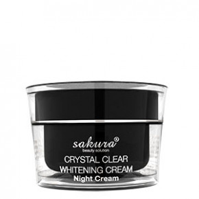 Kem trị nám ban đêm Sakura Crystal Clear Whitening Night Cream