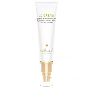 Sakura CC Cream Flawless Control Base