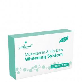 Sakura multivitamin & herbals whitening system