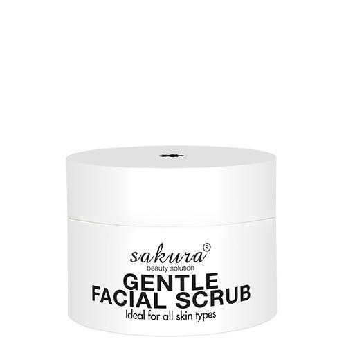 Sakura gentle facial scrub