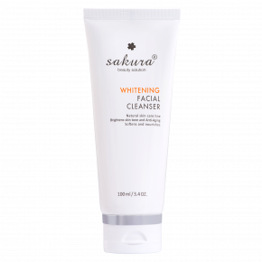 Sakura whitening facial cleanser