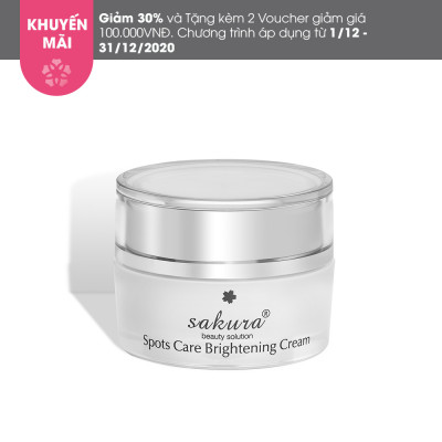 Sakura Spots Care Brightening Cream (13G)