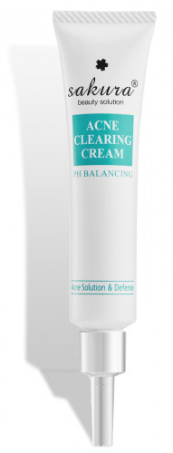 Sakura acne clearing cream
