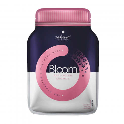 Sakura Bloom Anti - Aging Collagen Gummies