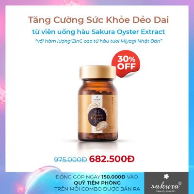 Sakura Oyster Extract