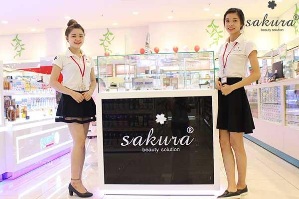 Sakura đã có mặt tại các Trung tâm Thương mại