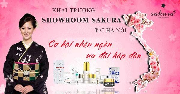 Tưng bừng khai trương showroom Sakura tại Hà Nội