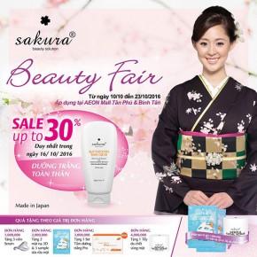 Cùng Sakura chào đón 20/10 tại Aeon mall