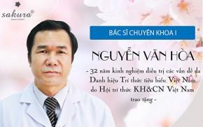 Bác sĩ Nguyễn Văn Hòa - Chuyên gia cố vấn của Sakura