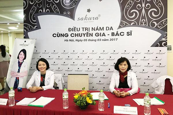 Hành trình trị nám xuyên Việt cùng chuyên gia, bác sĩ Sakura
