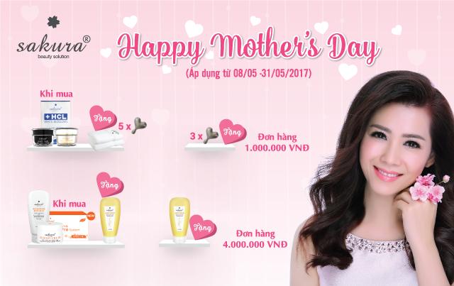 """""""Gói trọn yêu thương gửi tặng đến mẹ"""" với ưu đãi lớn từ Sakura"""