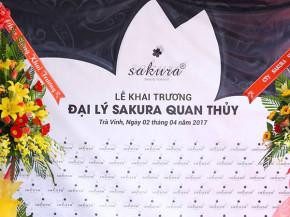 Sakura tưng bừng khai trương đại lý chính thức đầu tiên ở Trà Vinh