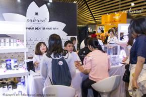 Gian hàng Sakura tại Feel Japan 2017 thu hút hơn 2.000 khách tham quan