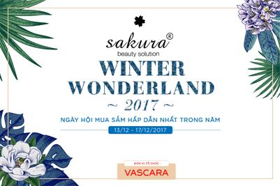 Mua sắm thả ga cùng Sakura trong ngày hội Winter Wonderland