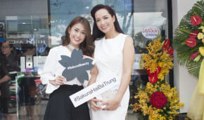 Ngọc Thảo, Thuý Hạnh tham dự khai trương showroom Sakura