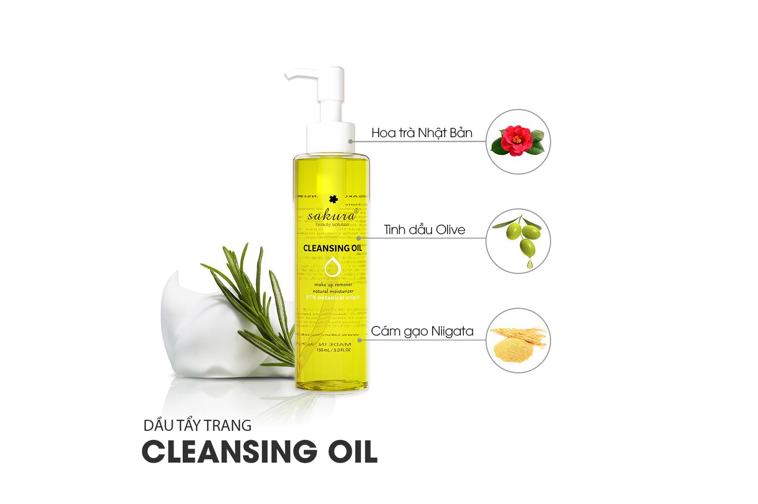 Cleansing Oil và những điều bạn chưa biết