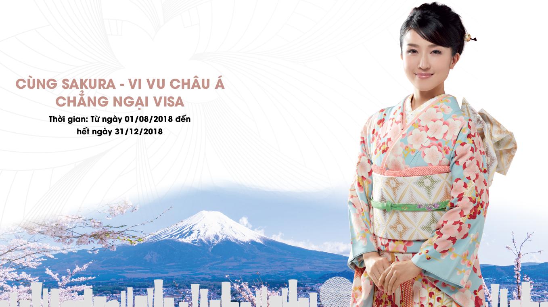 Cơ hội trúng 5 chuyến du lịch châu Á chỉ với 600.000 đồng