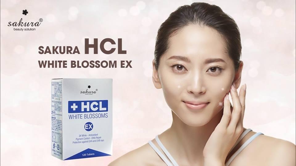 """Sakura HCL White Blossoms Ex – Bí quyết """"giải cứu"""" làn da sạm nám từ thiên nhiên"""