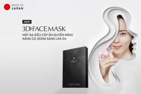 Ra mắt sản phẩm mới Mặt nạ 3D siêu cấp ẩm quyền năng, nâng cơ, bừng sáng làn da