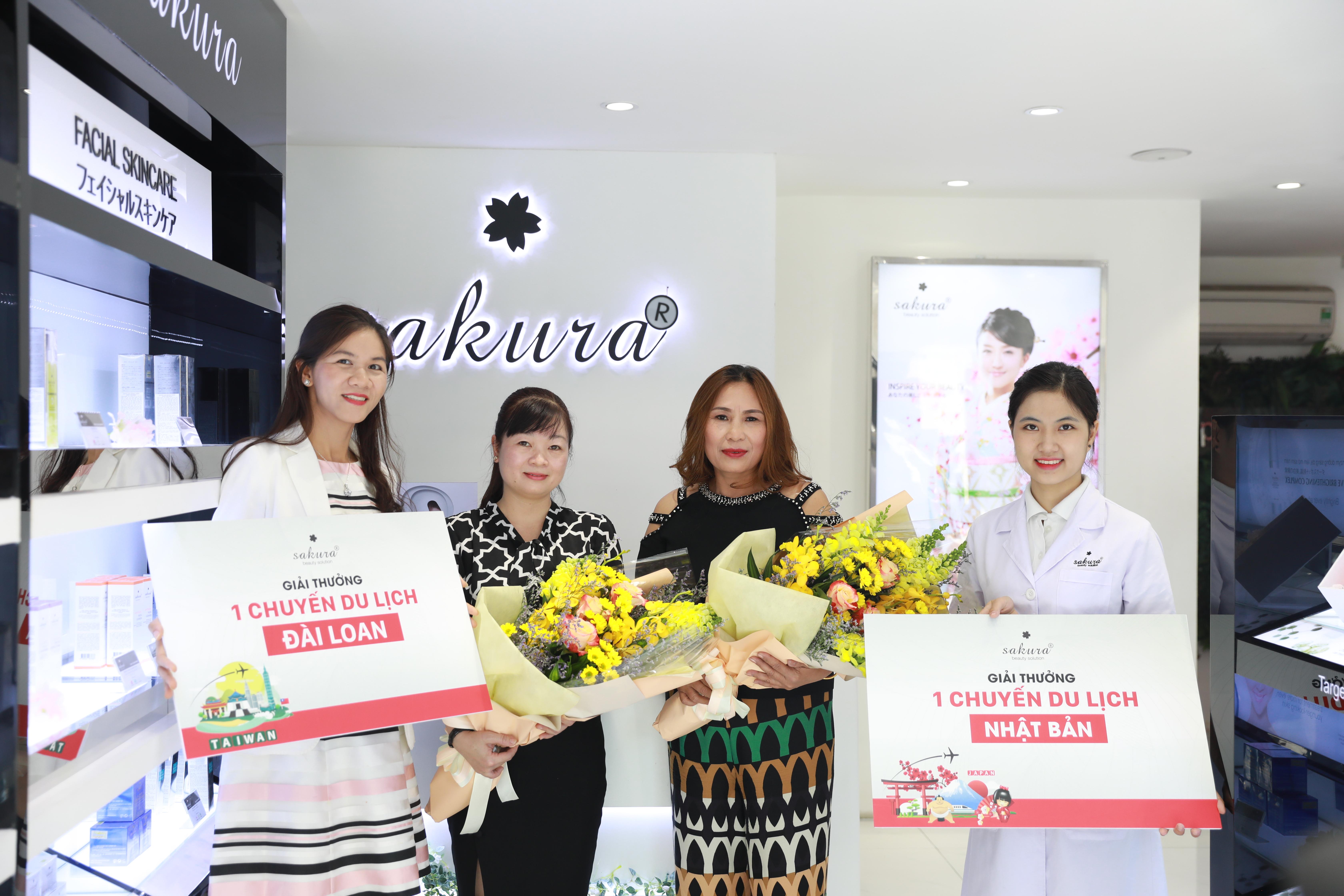 Lộ diện chủ nhân may mắn của 5 chuyến du lịch châu Á - Sakura Passport Rewards