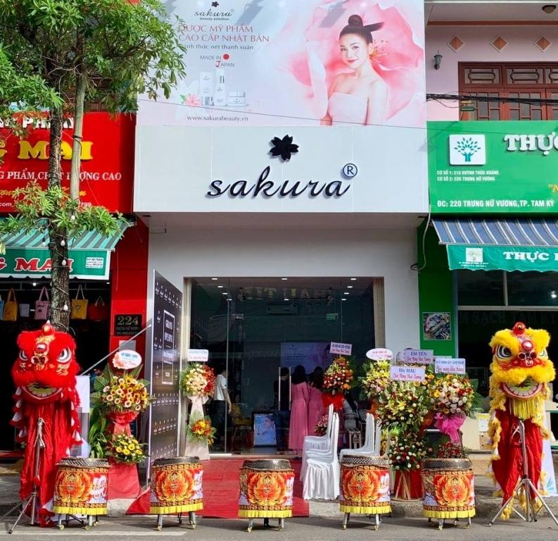 Khai trương Showroom đại lý uỷ quyền Sakura thương hiệu Nhật Bản tại tỉnh Quảng Nam