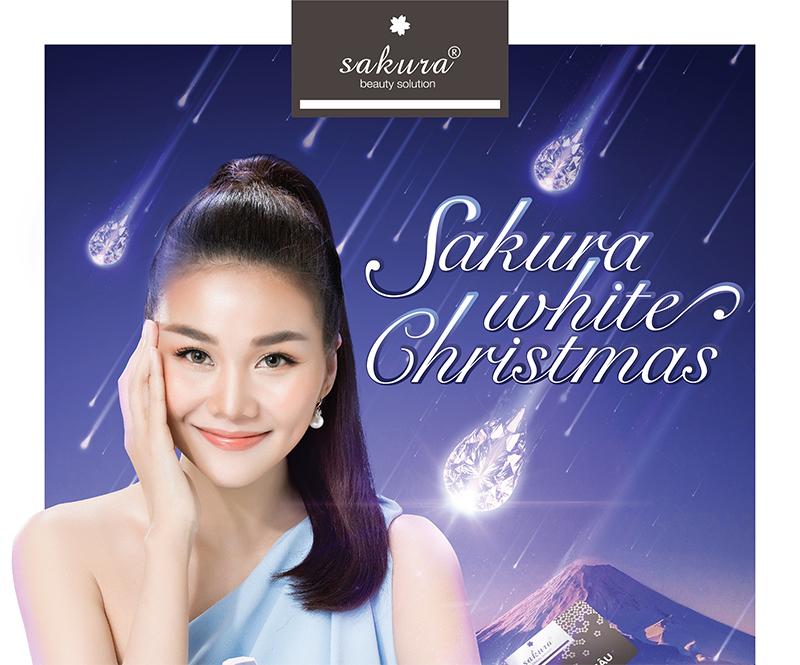 Khuyến mãi tháng 12 - Sakura White Christmas