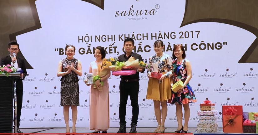 Hội nghị khách hàng mỹ Phẩm Sakura 2017