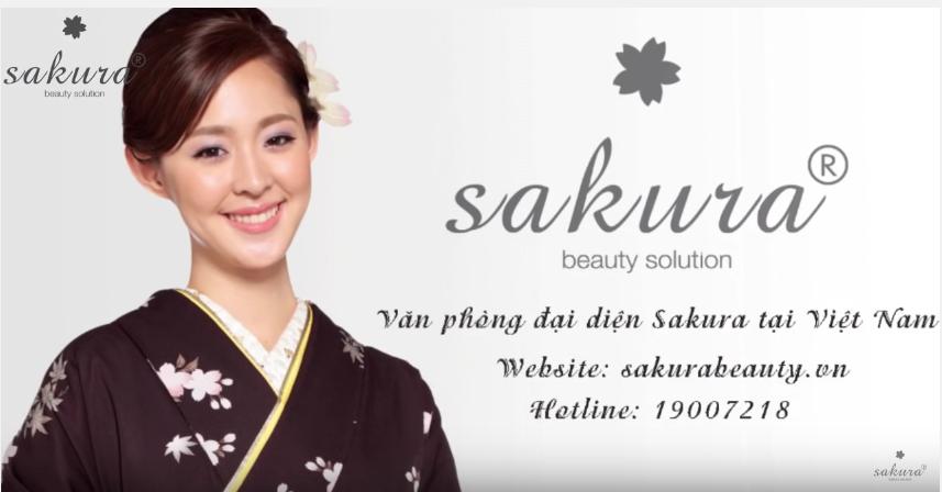 Mỹ phẩm Sakura Nhật Bản - Mỹ phẩm an toàn được tin dùng tại Việt Nam