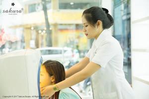 Trải nghiệm dịch vụ chăm sóc da cao cấp tại showroom Sakura