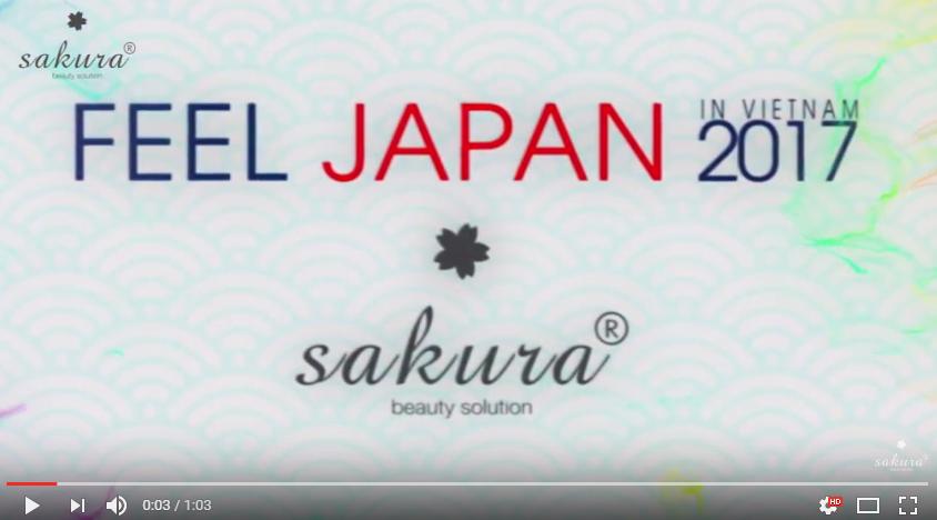 Khám phá văn hóa xứ Phù Tang cùng  Sakura tại Feel Japan 2017