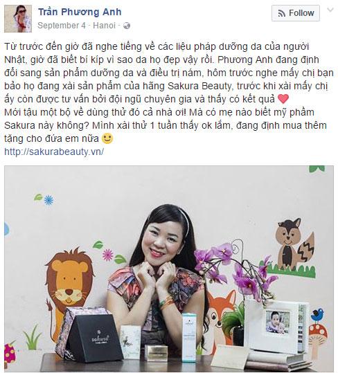 Ra Hà Nội nghe bí quyết làm đẹp của chị đẹp Trần Phương Anh