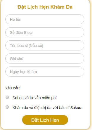 Sakura Việt Nam tài trợ chi phí khám da cho khách hàng