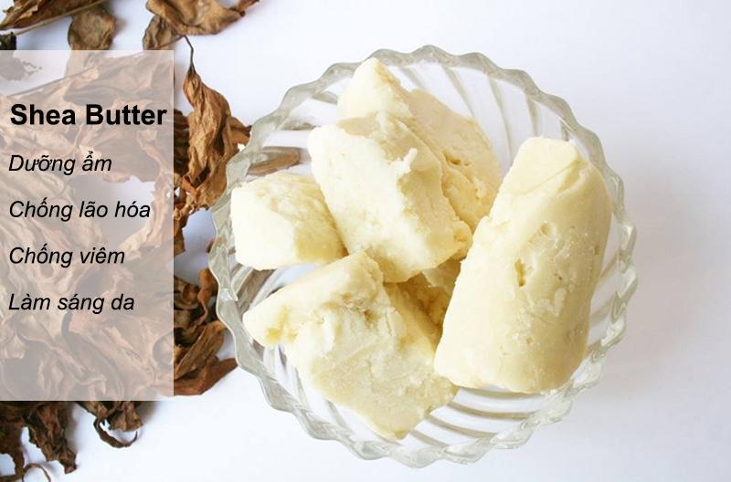 bơ shea dưỡng ẩm cho làn da hiệu quả