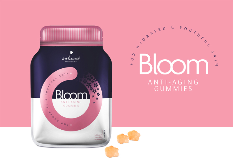 thạch bổ sung collagen từ sakura