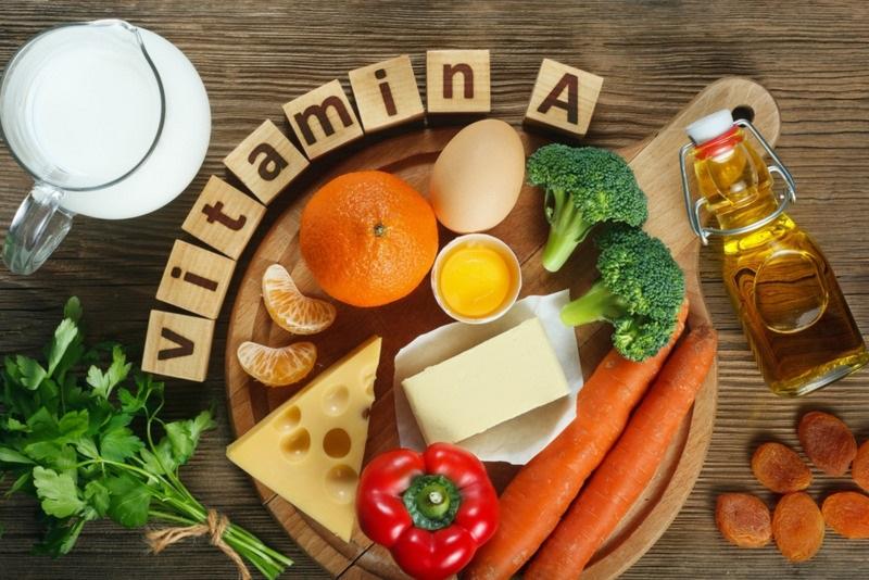 Vitamin a hỗ trợ kiểm soát tối đa lượng dầu nhờn giúp ngừa mụn hiệu quả